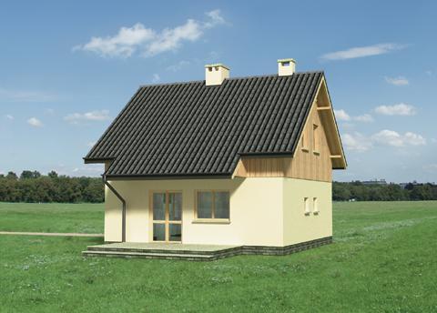 Projekt domu Groszek