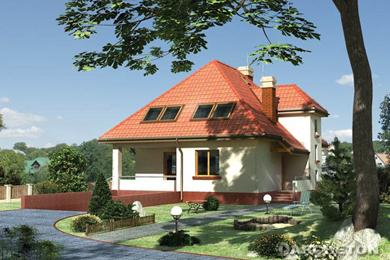 Projekt domu Grot