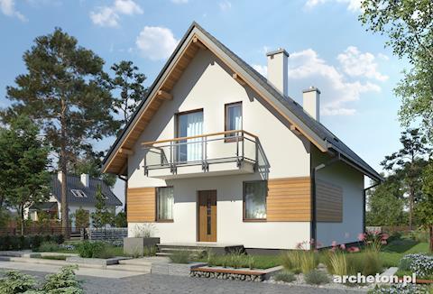 Projekt domu Grześ