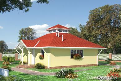 Projekt domu Grzybek
