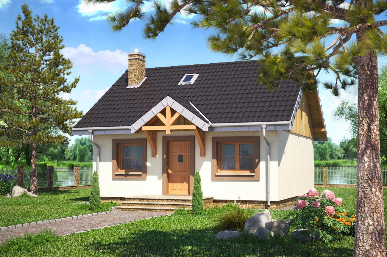 Projekt domu gucio beton kom rkowy for W and p design