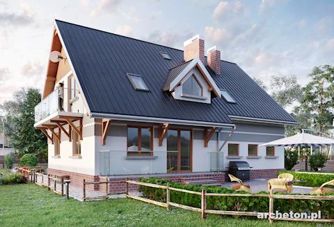 Projekt domu Gwidon