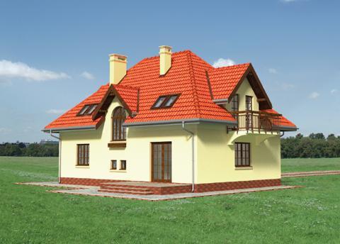 Projekt domu Halszka