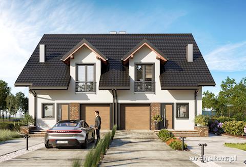 Projekt domu Hania Duo