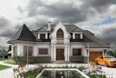 Projekt domu Harfa