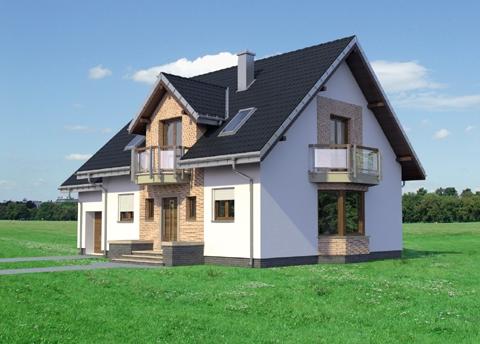 Projekt domu Helena Eko