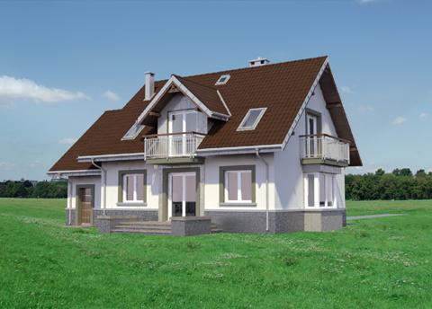 Projekt domu Helena Polo