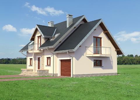 Projekt domu Helena Prima