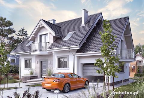 Projekt domu Helena Rex