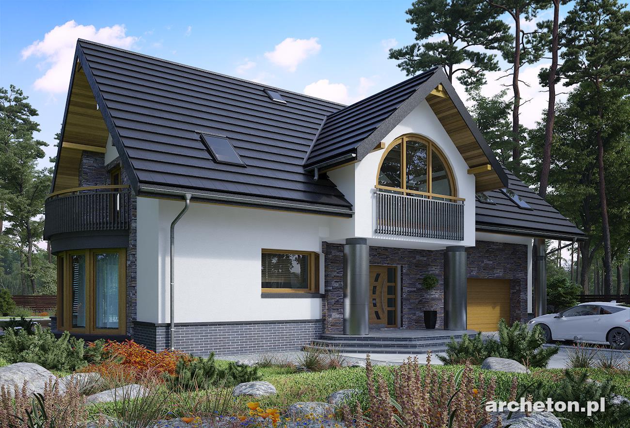 Projekt Domu Helga Propozycja Dla Osób Szukających Dużego Domu I