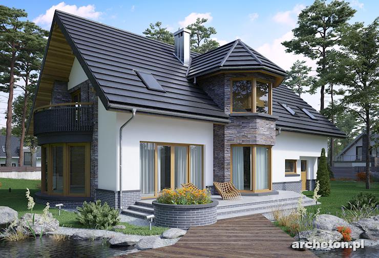 Projekt domu Helga - propozycja dla osób szukających dużego domu i ceniących tradycję