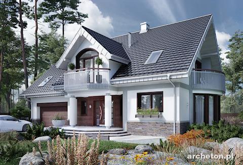 Projekt domu Heliodor As