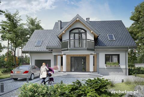 Projekt domu Heliodor As G1