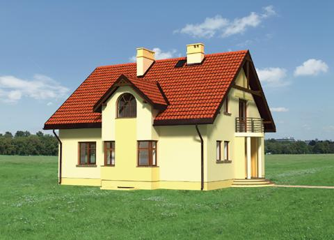 Projekt domu Helion