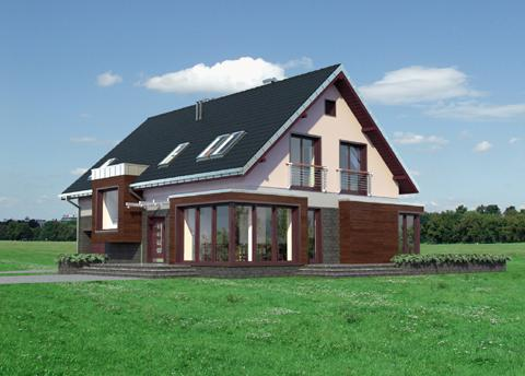 Projekt domu Helios