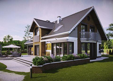 Projekt domu Herbert