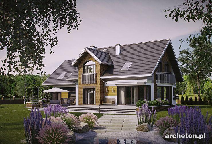 Projekt domu Herbert - piękny i przestronny dom jednorodzinny o charakterze małej rezydencji