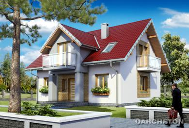Projekt domu Hilda Rex