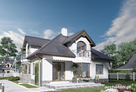 Projekt domu Honorata