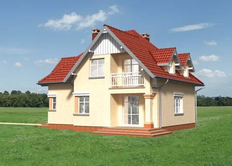 Projekt domu Horacy