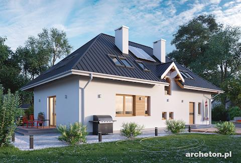 Projekt domu Horeszko
