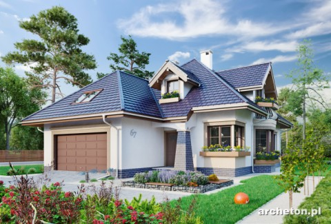 Projekt domu Hortensja