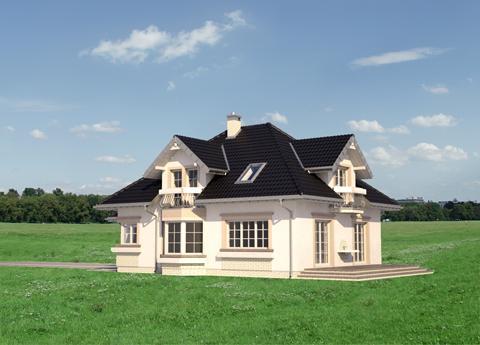 Projekt domu Hortensja Atu