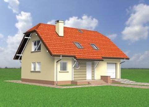 Projekt domu Hugo