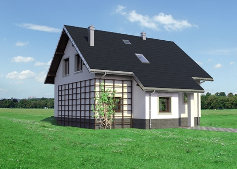 Projekt domu Ibis EKo