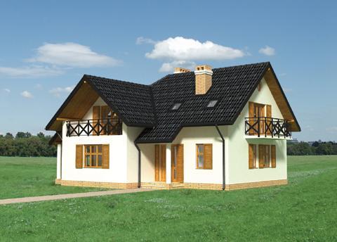 Projekt domu Iga