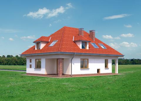 Projekt domu Impresja