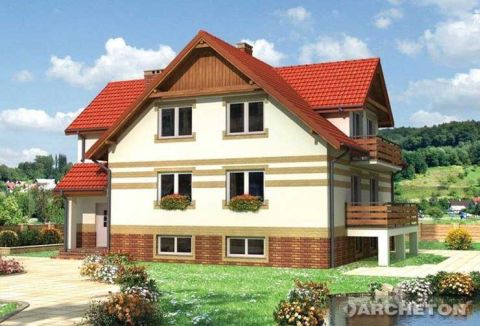 Projekt domu Irena