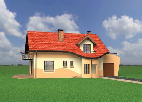 Projekt domu Irmina