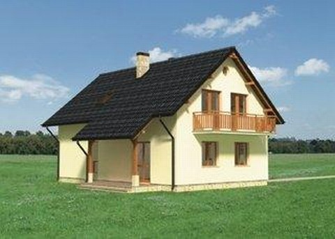 Projekt domu Irys