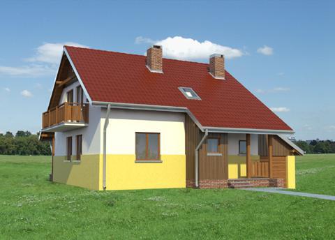 Projekt domu Iwa