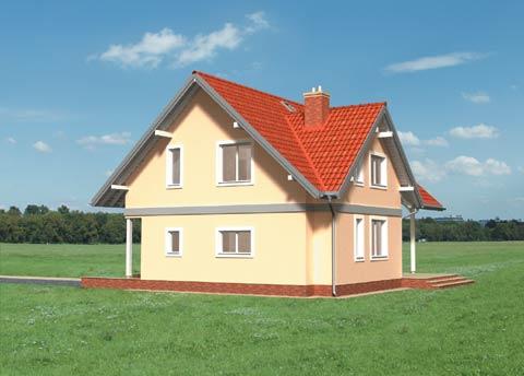Projekt domu Iwona