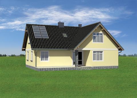 Projekt domu Izabela