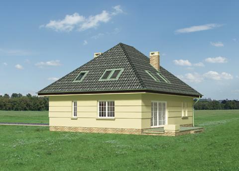 Projekt domu Izyda