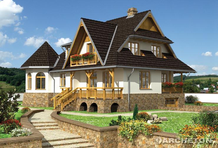 Projekt domu Jabłonna - przestronny i atrakcyjny dom dla wieloosobowej rodziny