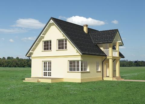 Projekt domu Janko