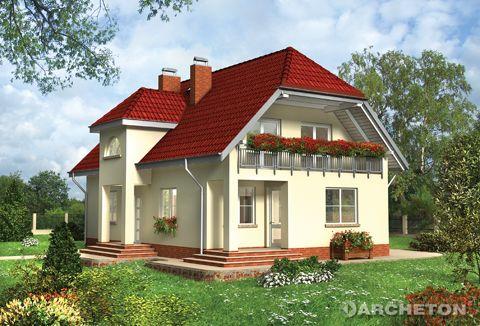 Projekt domu Jantar