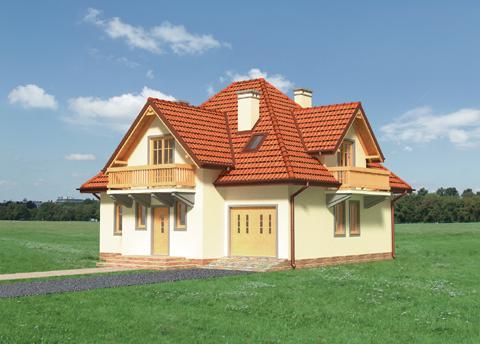 Projekt domu Jaskier
