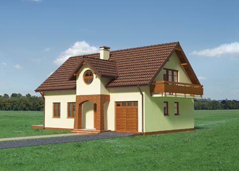 Projekt domu Jaspis