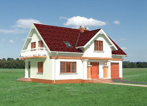 Projekt domu Jazon