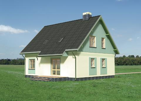 Projekt domu Jędrzej