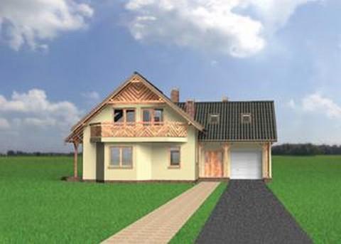 Projekt domu Jelonek