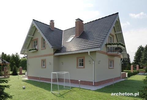 Projekt domu Jelonek As