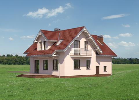 Projekt domu Jelonek Astro