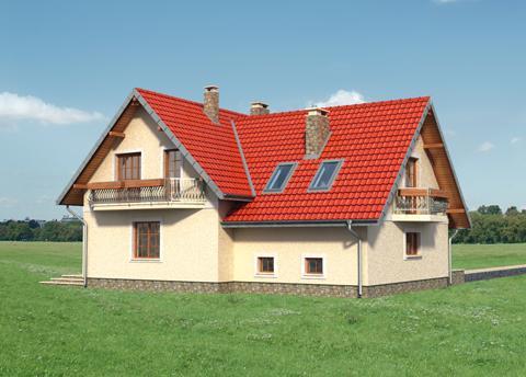 Projekt domu Jelonek Atu
