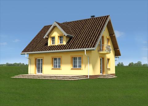 Projekt domu Jelonek Rex